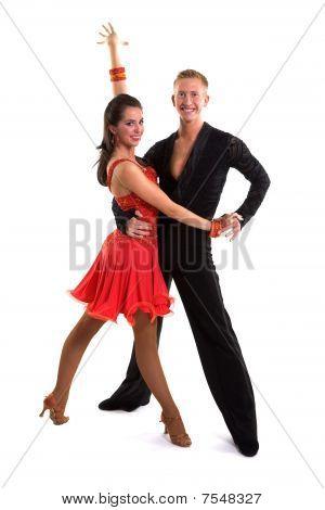 Ballroom Dancers Latin 14