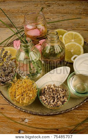 Natural Cosmetics Assorment