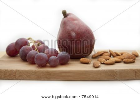 Pear, Grapes, Almonds
