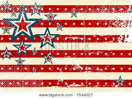 USA flag theme