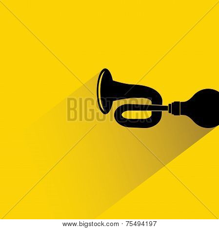 brass bicycle horn