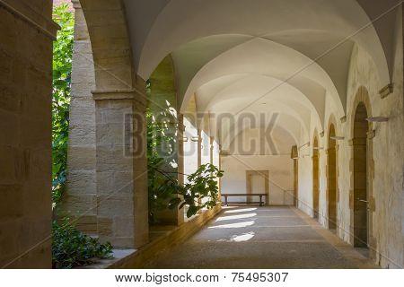 Walk-way In Basilica