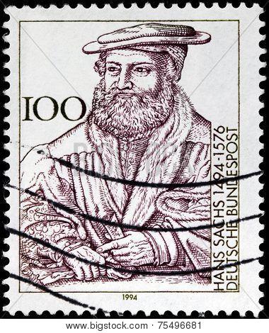 Hans Sachs Stamp