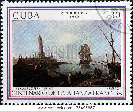 Vernet Stamp