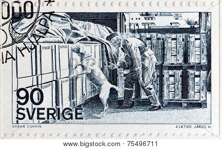 Customs Officer Stamp