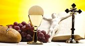 picture of communion  - Holy Communion Bread - JPG