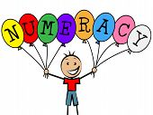 picture of youngster  - Numeracy Balloons Meaning Child Youngsters And Boy - JPG