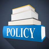 pic of fiction  - Policy Book Representing Rules Procedure And Non - JPG