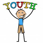 picture of youngster  - Youth Boy Showing Young Kids And Youngsters - JPG