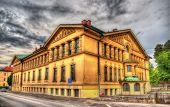 stock photo of dom  - Sokolski dom Tabor in Ljubljana  - JPG
