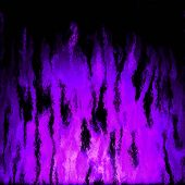 pic of plasmatic  - Burning purple fire generated texture or background - JPG