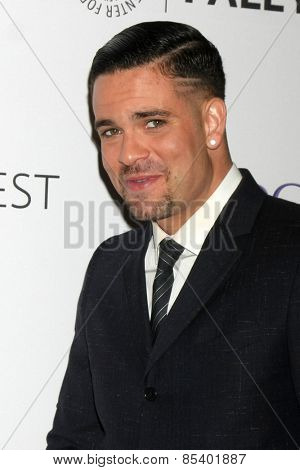 LOS ANGELES - MAR 13:  Mark Salling at the PaleyFEST LA 2015 -