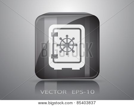 icon of safe