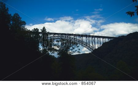 Bridge Silhouette in WV