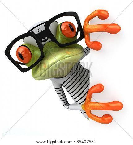 Frun frog