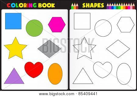 Coloring Page Shapes