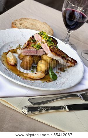 Veal And Potatoes