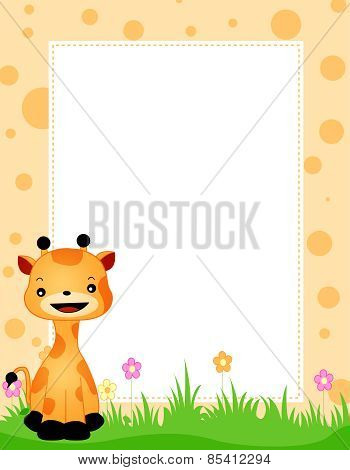 Animal Border Giraffe