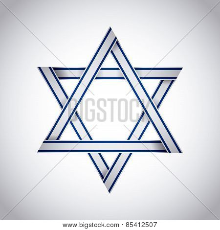Israel design over white background vector illustration