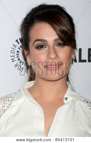 LOS ANGELES - MAR 13:  Lea Michele at the PaleyFEST LA 2015 -