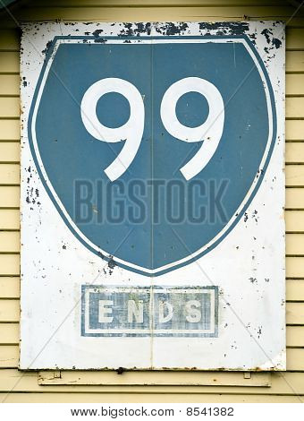 Route 99 Sign