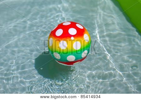 Ball in a pool