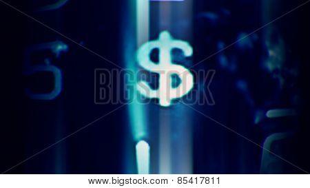 Future Tech Dollar Symbol