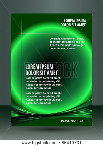 Flyer design content background. Design layout template