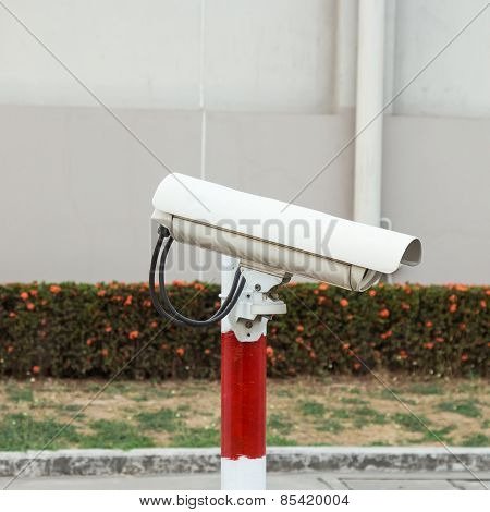 Security Camera In Park