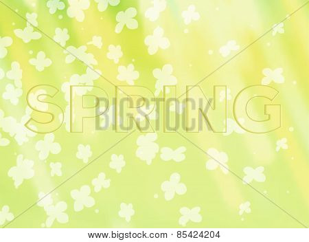 Nature flowers background