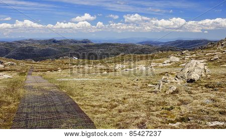 Mount Kosciuszko National Park In Australia.