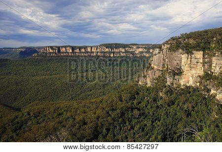 Blue Mountain Near Sydney In Australia