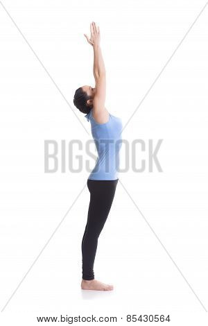 Upward Hand Yoga Pose