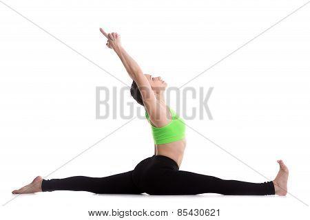 Hanumanasana Yoga Pose