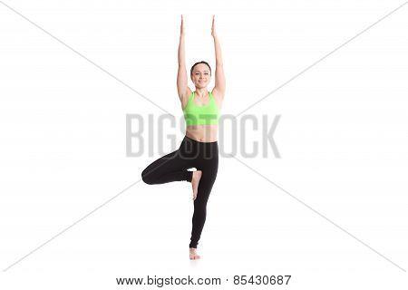 Yoga Asana Vriksasana