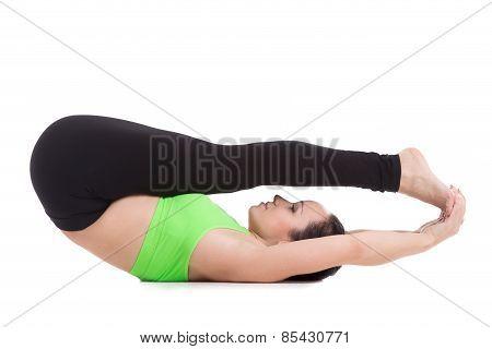 Supta Paschimottanasana Yoga Pose