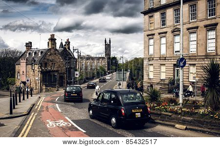 City view of Edinburgh
