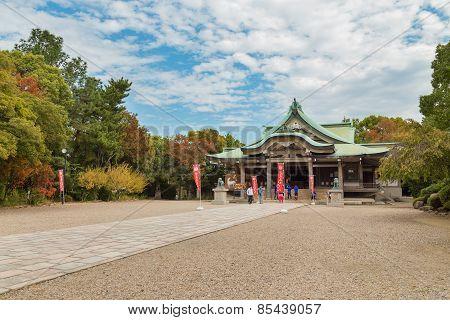 Hokoku Shrine in Osaka Japan