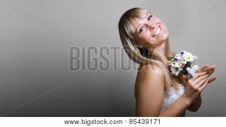 Beautiful Dreamy Bride