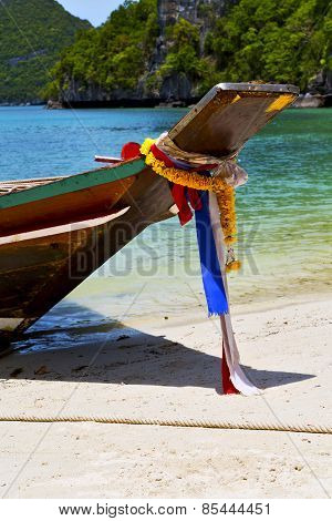 Asia In The Koh Phangan Bay Isle White