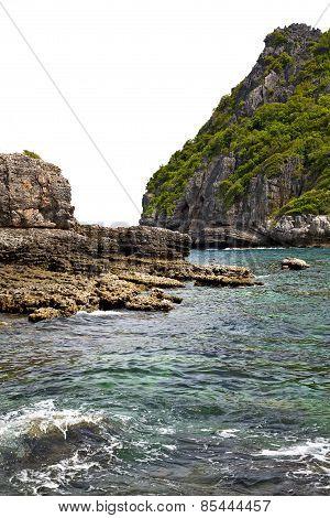 Blue Lagoon   Bay Abstract Of A  Water   South China Sea
