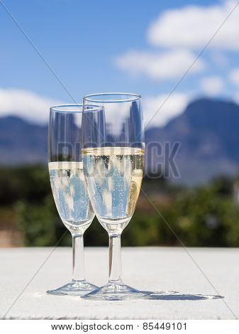 South African sparkling wine