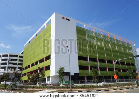 Big Box Shopping Center In Jurong