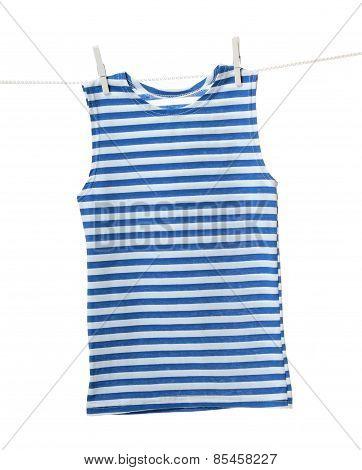 Striped vest