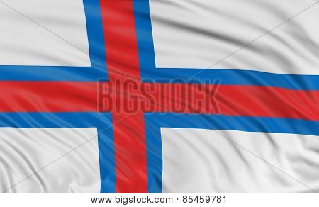 3D Faroe Islands flag