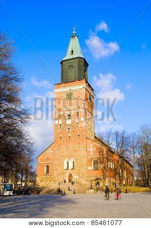 Turku. Finland. Lutheran Cathedral
