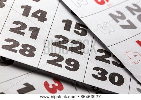 Calendar Background