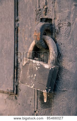 Old Rusty Doorlock