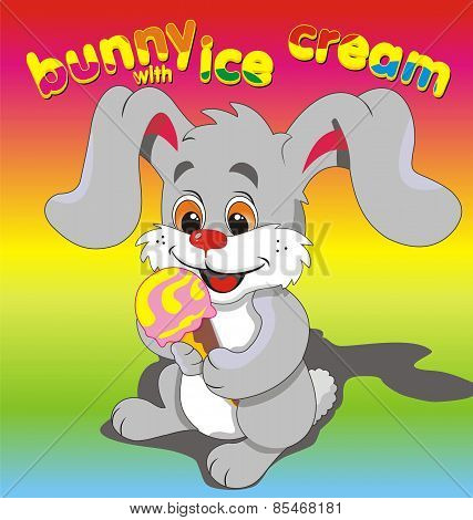Bunny Ice Cream Grey.eps