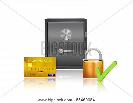 Safe Money Protection Illustration